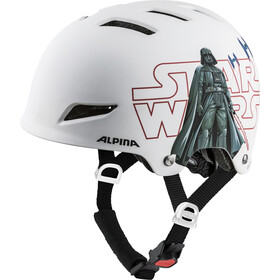 Alpina Park Helmet Kinder star wars-white